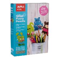 Dessin - Coloriage Kits Funny Pencils animaux sauvages