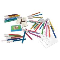 Dessin - Coloriage LA FERME Coffret 36 feutres + Timbres Generique
