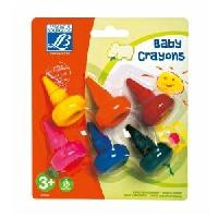 Dessin - Coloriage LEFRANC & BOURGEOIS Assortiment baby crayons éducation - 6 crayons Lefranc Et Bourgeois