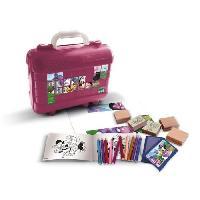 Dessin - Coloriage MINNIE Malette de timbres et dessins Generique