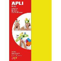 Dessin - Coloriage Pochette 10 feuilles de mousse caoutchouc - couleurs fluo assorties