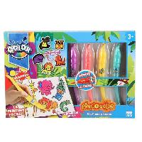 Dessin - Coloriage QOLOR Pinc'o Qolor - Atelier mes Amis de la Jungle