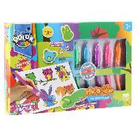 Dessin - Coloriage QOLOR Pinc'o Qolor - Coffret tampons et animaux Generique
