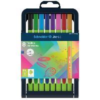 Dessin - Coloriage SCHNEIDER Etui de 9 fineliner Line-Up 0.4 - Assorti