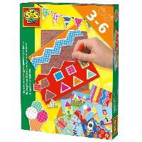 Dessin - Coloriage SES CREATIVE Kit de blocs de piquage