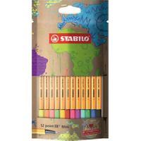 Dessin - Coloriage Sachet x 12 stylos-feutres STABILO point 88 Mini #mySTABILOdesign