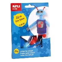 Dessin - Coloriage Zero le robot Boite kit creatifs