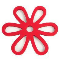 Dessous De Plat - Porte-plat Dessous de plat magnetique rouge