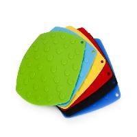 Dessous De Plat - Porte-plat YONG Set dessous-plat Primly - 18.5 x 18.5 cm - 6 couleurs assorties