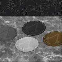 Dessous De Verre - Dessous De Bouteille 4 Dessous de verre Assassin's Creed