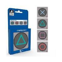 Dessous De Verre - Dessous De Bouteille 4 sous-verres GB Eye Playstation