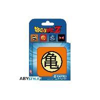 Dessous De Verre - Dessous De Bouteille Set de dessous de verres -4- Dragon Ball - Symboles - ABYstyle
