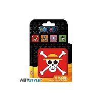Dessous De Verre - Dessous De Bouteille Set de dessous de verres -4- One Piece - Skulls - ABYstyle