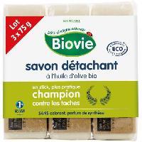 Detachant Textile BIOVIE Savon detachant a l'huile d'olive - 3x75 g