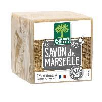 Detachant Textile L'ARBRE VERT Cube de savon de Marseille - 300 g