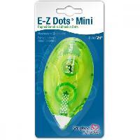 Devidoir Ruban Adhesif BY 3 L E-Z Dots Mini Devidoir Adhesif Repositionnable - 8 m