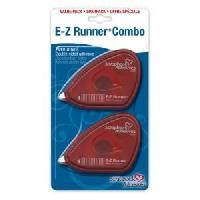 Devidoir Ruban Adhesif BY 3 L Pack de 2 devidoirs double face E-Z Runner 8.5 m