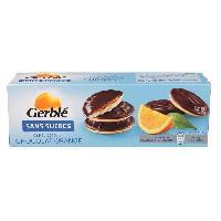 Dietetique Minceur GERBLE Génoise chocolat orange sans sucre - 140g