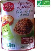 Dietetique Minceur Hache vegetal - Soja oignons persil - Bio - 250g