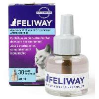 Diffuseur Bien-etre - Spray Appaisant - Anti-stress - Nervosite FELIWAY Recharge anti-stress 48 ml - 30 jours - Pour chat Ceva