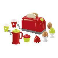 Dinette - Cuisine ECOIFFIER CHEF Coffret Toaster
