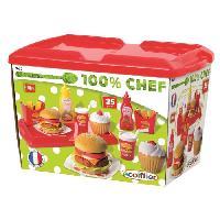Dinette - Cuisine ECOIFFIER CHEF Set Hamburger