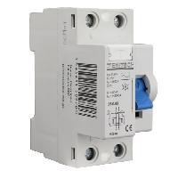 Disjoncteur - Accessoire Disjoncteur ZENITECH Interrupteur differentiel type AC 40A 30mA