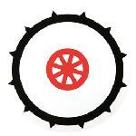 Disque 90 pneu cloute adhesif Generique