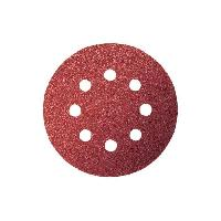 Disque Abrasif 5 Disques abrasifs pour ponceuse excentrique - D 115 mm - 8 Trous - Grain 60 120 240