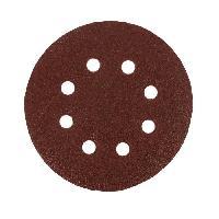 Disque Abrasif 6 disques abrasifs pour decaper - 125 mm - Gros grain 40