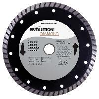 Disque De Meuleuse - Disque De Decoupe EVOLUTION Disque diamant FURY 185mm