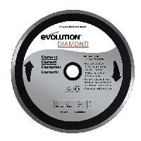 Disque De Meuleuse - Disque De Decoupe EVOLUTION Disque diamant FURY 255mm