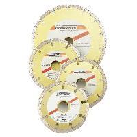 Disque De Meuleuse - Disque De Decoupe MANNESMANN Disque diamant a tronconner M1245-110 - O 110 mm