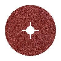 Disque De Meuleuse - Disque De Decoupe WOLFCRAFT Lot de 5 Disques fibre pour meuleuse Gr100 - O178mm