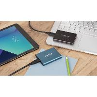 Disque Dur Externe SAMSUNG - Disque SSD Externe - T5 noir - 1To -MU-PA1T0B-EU-