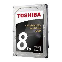 "Disque Dur Interne TOSHIBA - Disque dur Interne - N300 - 8To - 7 200 tr/min - 3.5"" (HDWN180EZSTA)"