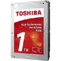 "Disque Dur Interne TOSHIBA - Disque dur Interne - P300 - 1To - 7 200 tr/min - 3.5"" (HDWD110EZSTA)"