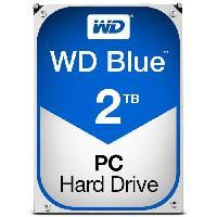 "Disque Dur Interne WD Blue? - Disque dur Interne - 2To - 5 400 tr/min - 3.5"" (WD20EZRZ) - Western Digital"