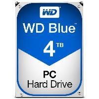 "Disque Dur Interne WD Blue? - Disque dur Interne - 4To - 5 400 tr/min - 3.5"" (WD40EZRZ) - Western Digital"