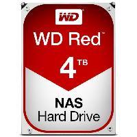 "Disque Dur Interne WD Red? - Disque dur Interne NAS - 4To - 5 400 tr/min - 3.5"" (WD40EFRX) - Western Digital"