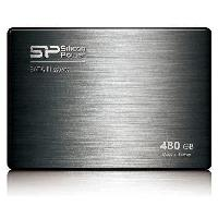 Disque Dur Ssd SILICON POWER SSD - SATAIII -MLC- - V60 - 480 GB - 7mm 2.5 Noir + desktop fit accessories