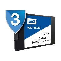 Disque Dur Ssd WD Disque dur Blue SSD - 3D Nand - Format 2.5-7mm - 250 Go