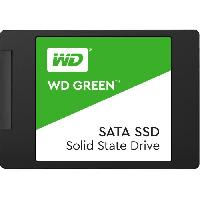 Disque Dur Ssd WD Green SSD - Format 2.5 - 7mm - 120 Go