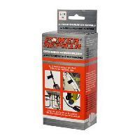 Disque Et Autre Adhesif De Signalisation POWER REPAIR Adhesif de reparation - Pour tous materiaux - Durcit en 15 minute - Resistant de -45degresC a +145degresC - 5x125 cm Sparco