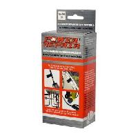 Disque Et Autre Adhesif De Signalisation POWER REPAIR Adhesif de reparation - Pour tous materiaux - Durcit en 15 minutes - Resistant de -45degresC a +145degresC -10x150 cm - Sparco