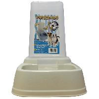 Distributeur D'aliment AIME Distributeur 2en1 croquettes et eau - Pour chat et chien
