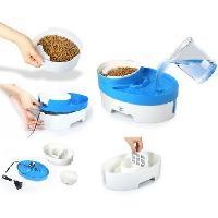 Distributeur D'aliment BIMAR Bol distributeur automatique aliments et eau - ABS - Pour chien et chat