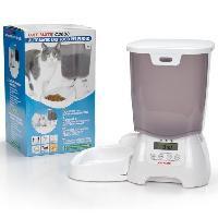 Distributeur D'aliment Cat Mate distributeur d'aliment 3kg - Blanc - Pour chat