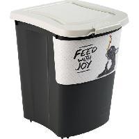 Distributeur D'aliment Container a croquettes verseur Archies avec pelle 38 L - Pour chien et chat