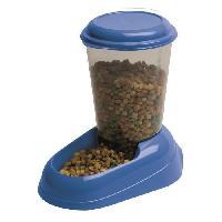 Distributeur D'aliment Distributeur croquettes Zenith 3L en plastique - 29.2x20.2x28.8 - Bleu - Chien et chat